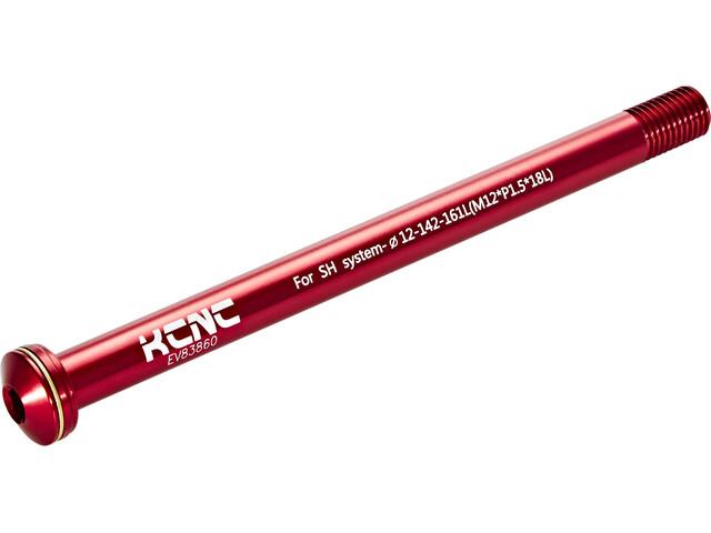 KCNC KQR08-SH 12x142mm Shimano E-Thru 161mm red